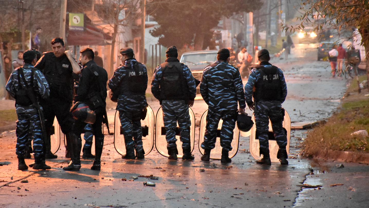 Ficción y violencia en Ituzaingó
